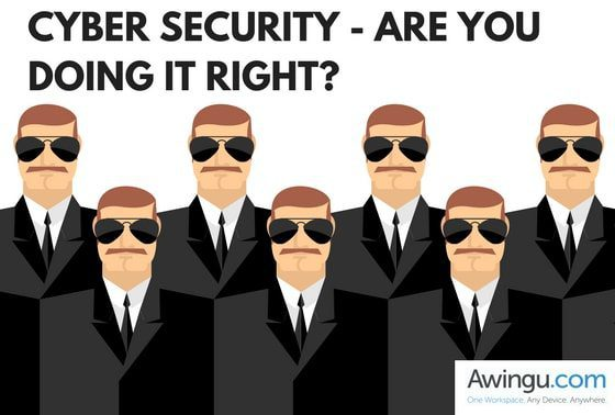 cyber security with awingu