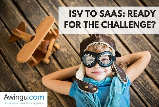 isv to saas with awingu