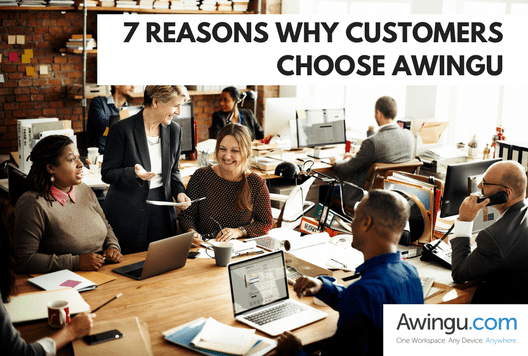 blog post Why customers choose Awingu
