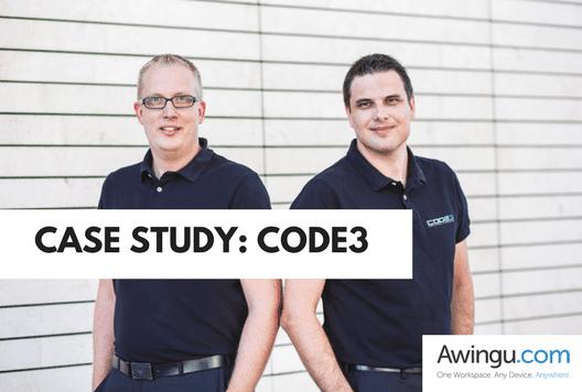 code3 blog post