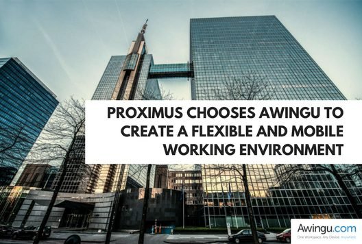 Awingu and Proximus blog post
