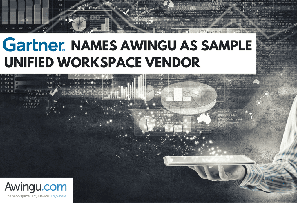 Gartner names Awingu as sample vendor for unified workspaces