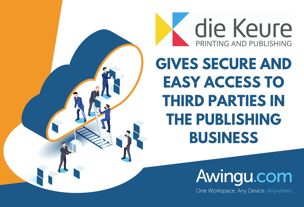 DIE KEURE GIVES SECURE AND EASY ACCESS TO THIRD PARTIES IN THE PUBLISHING BUSINESS