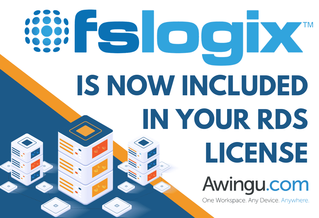 FSLogix is now included in your RDS license, and that's