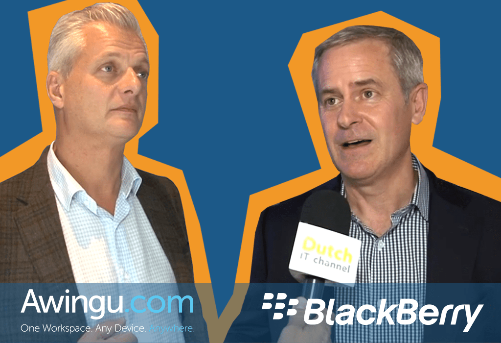 Awingu & BlackBerry: complementing solutions to offer a highly secure Digital Workplace
